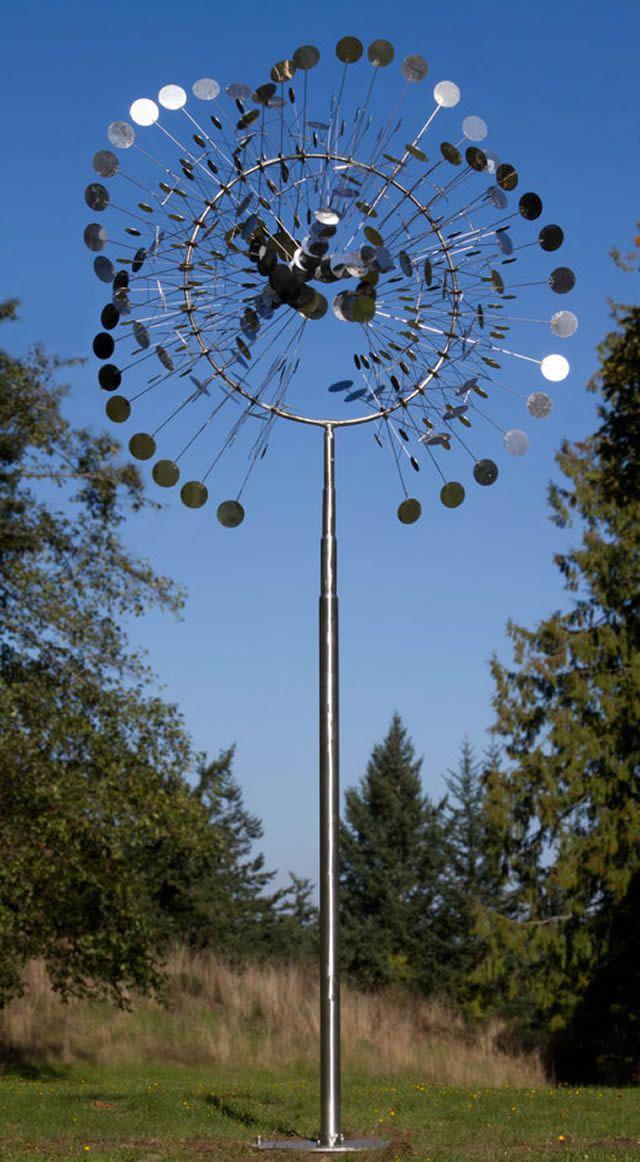 Esculturas cinéticas eólicas de Anthony Howe (9)