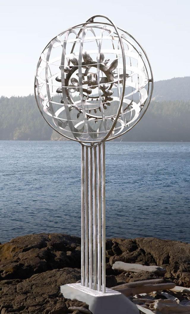 Esculturas cinéticas eólicas de Anthony Howe (2)