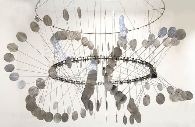 Esculturas cinéticas eólicas de Anthony Howe (1)