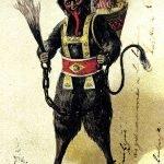 Krampus, el diablo de la Navidad