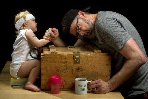 El mejor padre Dave Engledow (3)