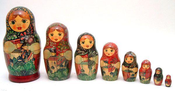 Muñecas Matryoshka