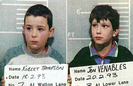 Niños Asesinos (7) Jon Venables e Robert Thompson