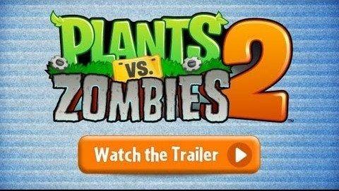 Plantas vs zombies 2 trailer oficial