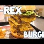 Hamburguesa T-Rex en Wendy's