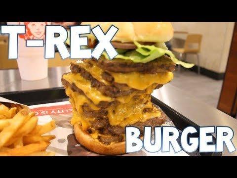 Hamburguesa T-Rex