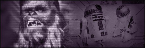 Chewbacca y R2-D2