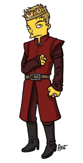 Joffrey Baratheon versión Simpsons (10)