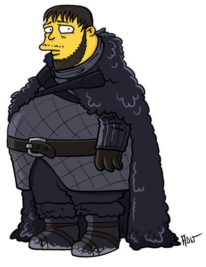 Samwell Tarly versión Simpsons (6)