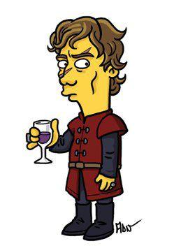 Tyrion Lannister versión Simpsons (2)