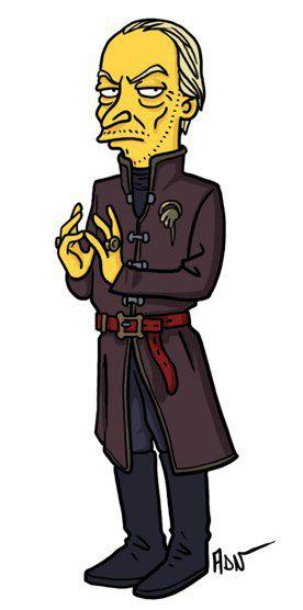 Tywin Lannister versión Simpsons (1)