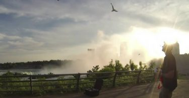 Cataratas del Niágara desde un drone