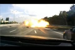 tanque gas explosion