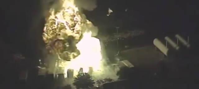 Explosiones en una fábrica de tanques de propano Tavares (Florida)