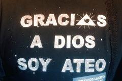 gracias a dios soy ateo