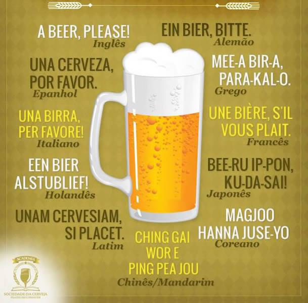 pedir una cerveza