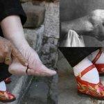 """""""Pies de loto"""", la extraña tradición de vendar los pies"""