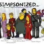 Personajes de Game Of Thrones versión Simpsons