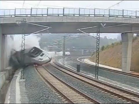 tren en Santiago de Compostela