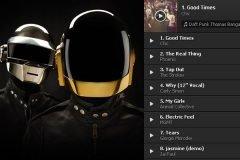 Daft Punk nos comparte su playlist personal