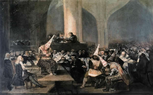 Francisco de Goya Tribunal Inquisición