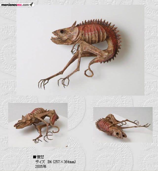 Criaturas Monstruosas Hajime Emoto (28)