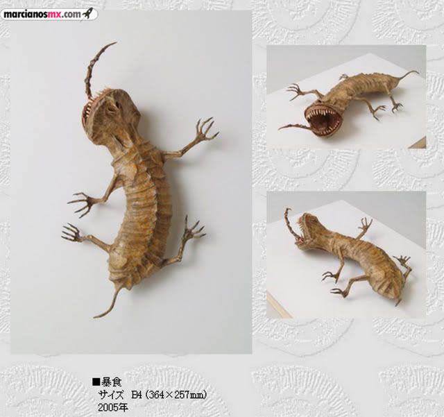 Criaturas Monstruosas Hajime Emoto (25)
