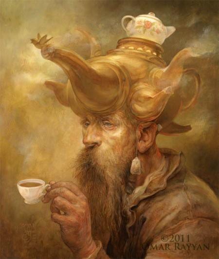 Pinturas horripilantes de Omar Rayyan (11)