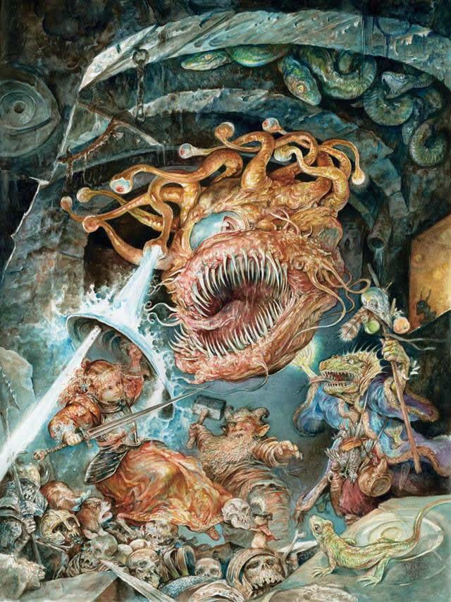 Pinturas horripilantes de Omar Rayyan (9)