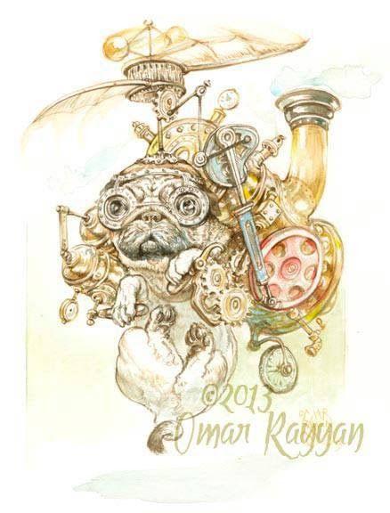 Pinturas horripilantes de Omar Rayyan (5)