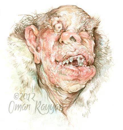 Pinturas horripilantes de Omar Rayyan (4)