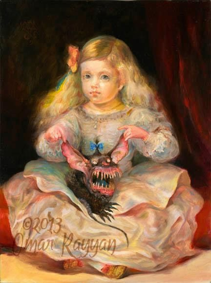 Pinturas horripilantes de Omar Rayyan (3)