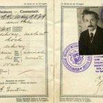 Pasaportes vintage de famosos