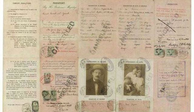Pasaporte de James Joyce (15)