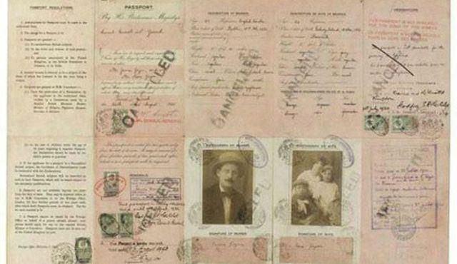 Pasaporte de James Joyce (15)