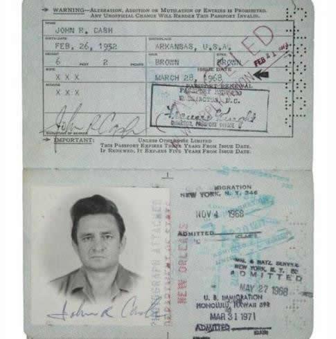 Pasaporte de (12)