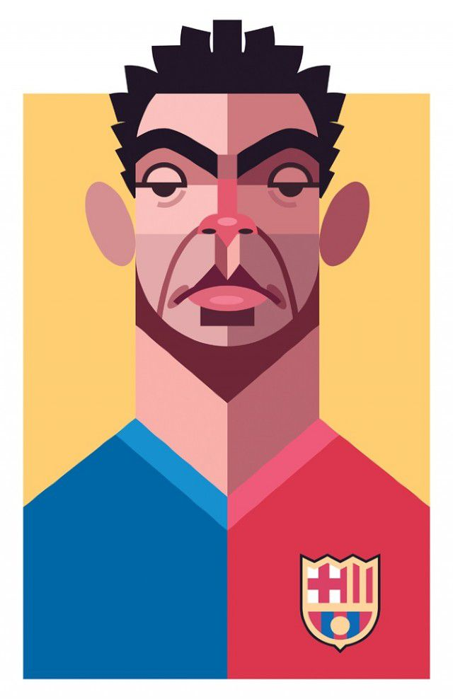 Playmakers (3) Xavi