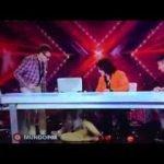 Caida de Belinda en 'El Factor X'