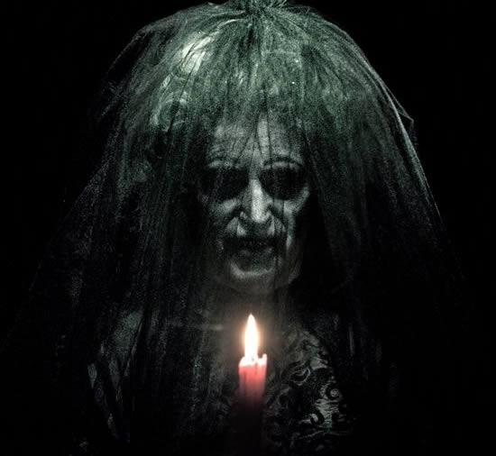 bruja aterradora