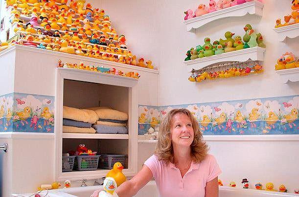 coleccion Patos de goma