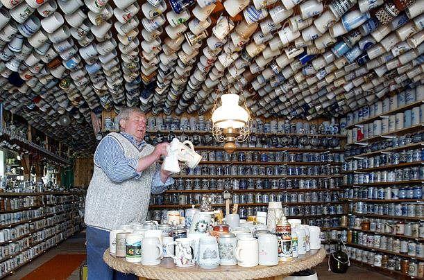 Heinrich Kath coleccion tarros cerveza