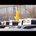 Globo HERE de estacionamiento de S Oil en Corea del Sur