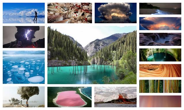 14 obras increíbles de la naturaleza