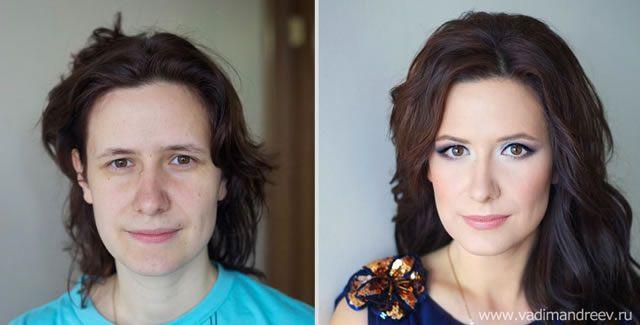 antes despues maquillaje Vadim Andreev (28)