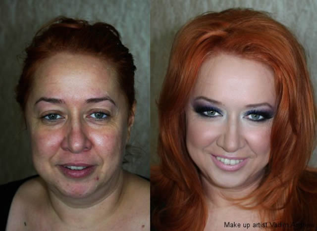 antes despues maquillaje Vadim Andreev (9)