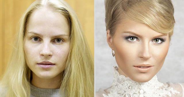 antes despues maquillaje Vadim Andreev (24)
