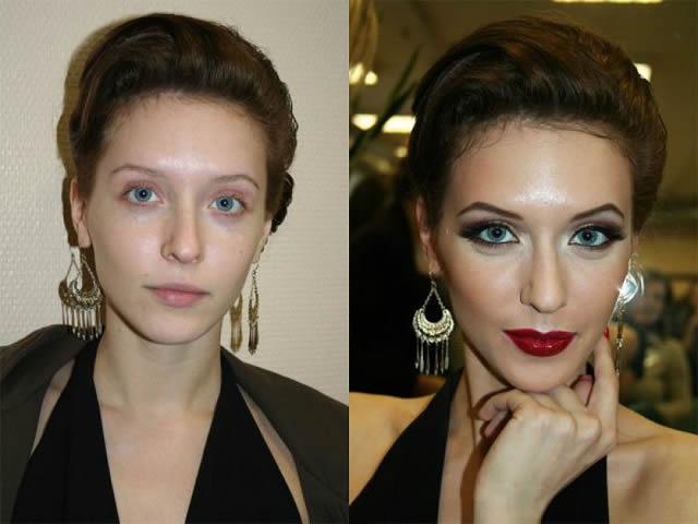 antes despues maquillaje Vadim Andreev (10)