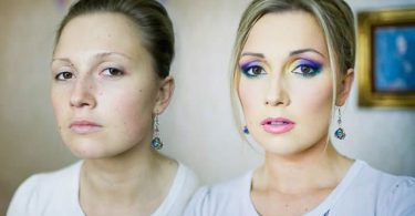 antes despues maquillaje Vadim Andreev (1)