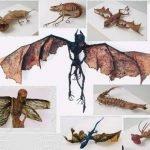 criaturas fantásticas Hajime Emoto