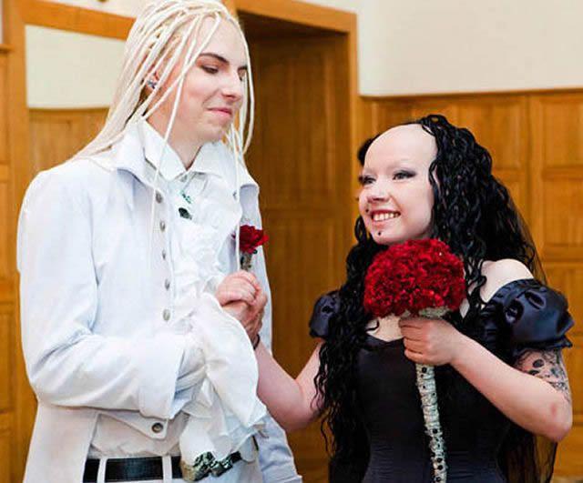 parejas más extrañas del mundo (18)